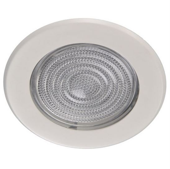 5 Quot Inch Glass Shower Trim White For Recessed Can Light Ebay