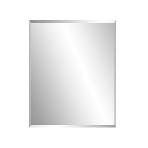 Bevel edge bathroom mirror 600 x 750 x 6 mm thickness - Standard bathroom mirror dimensions ...