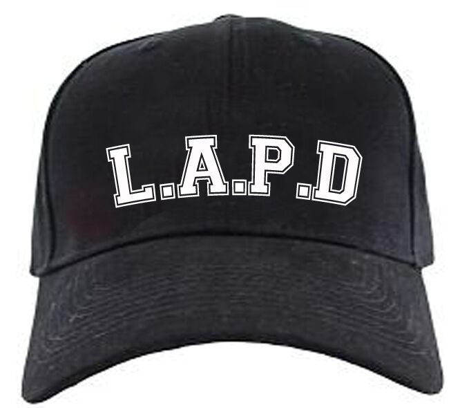 Lapd Los Angeles Police Department Baseball Cap Fancy