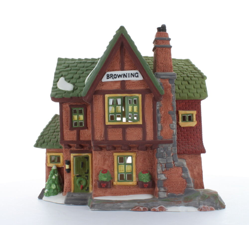 Department 56 Dickens 39 Village Collectible Browning