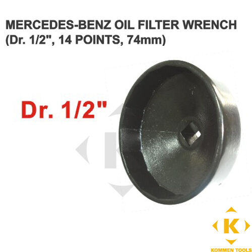 Mercedes benz oil filter wrench 14 flats 74mm fits toyota for Mercedes benz oil