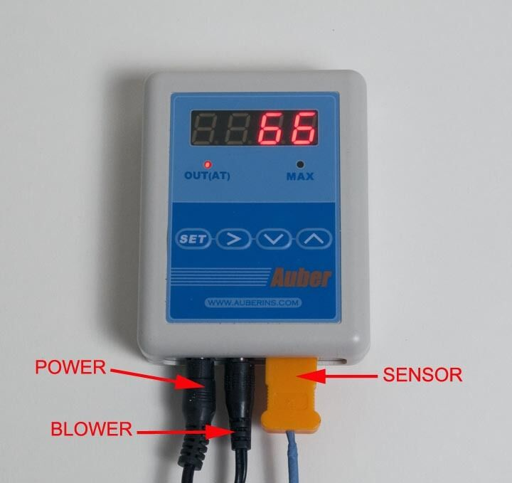 temperature controller for weber smokey mountain ebay. Black Bedroom Furniture Sets. Home Design Ideas