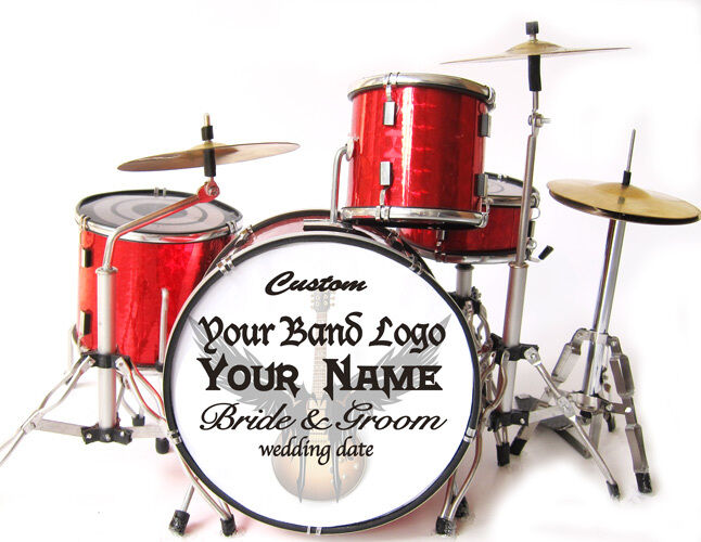 Miniature Drums Personalized Custom Wedding Cake Topper ...