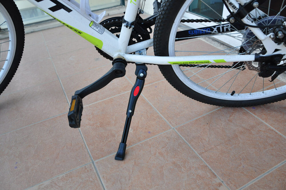 Mountain Bike Bicycle Side Rear Kick Stand Adjustable Aluminum Alloy Kick Stand
