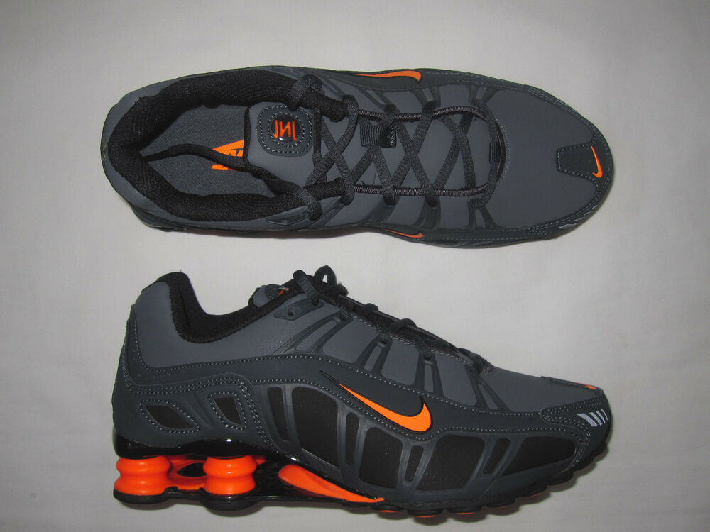 detailed look a0c02 e513d Nike Shox Turbo Grey Orange