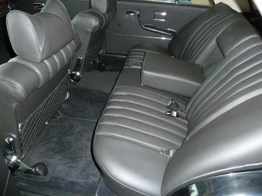 Mercedes w108 250s se 280se sel 4 5 leather rear seat kit for Mercedes benz replacement seat covers