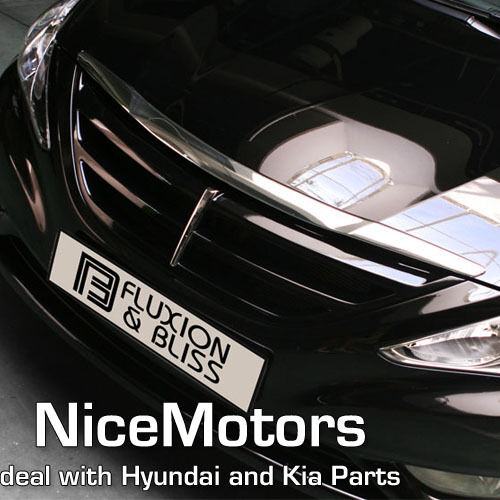 2011 2012 2013 Sonata I45 Front Radiator Fps Grille Painted Ebay