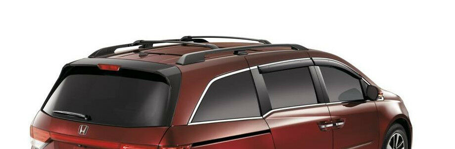 genuine oem honda odyssey complete roof rack with rails. Black Bedroom Furniture Sets. Home Design Ideas