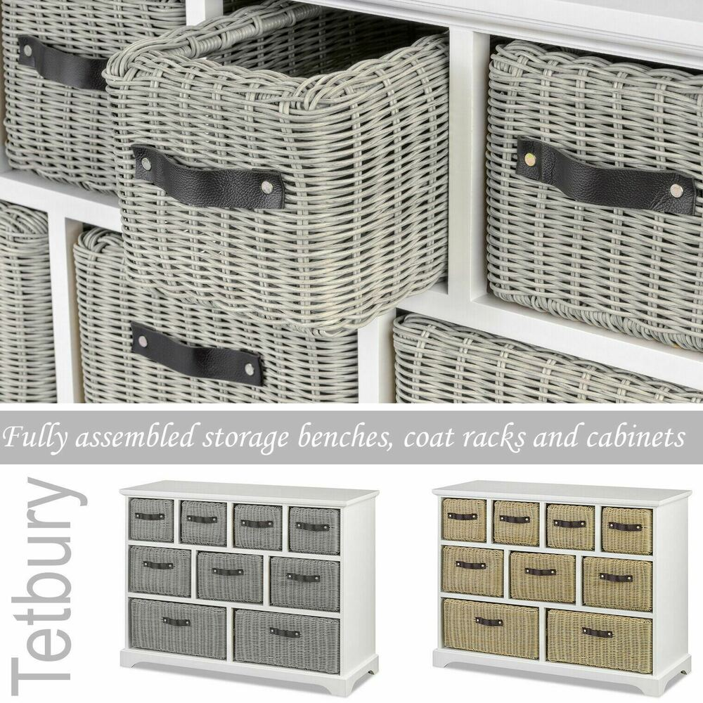 Shabby Chic Bedroom Furniture Country Chest Of Drawers Bedside Tables EBay