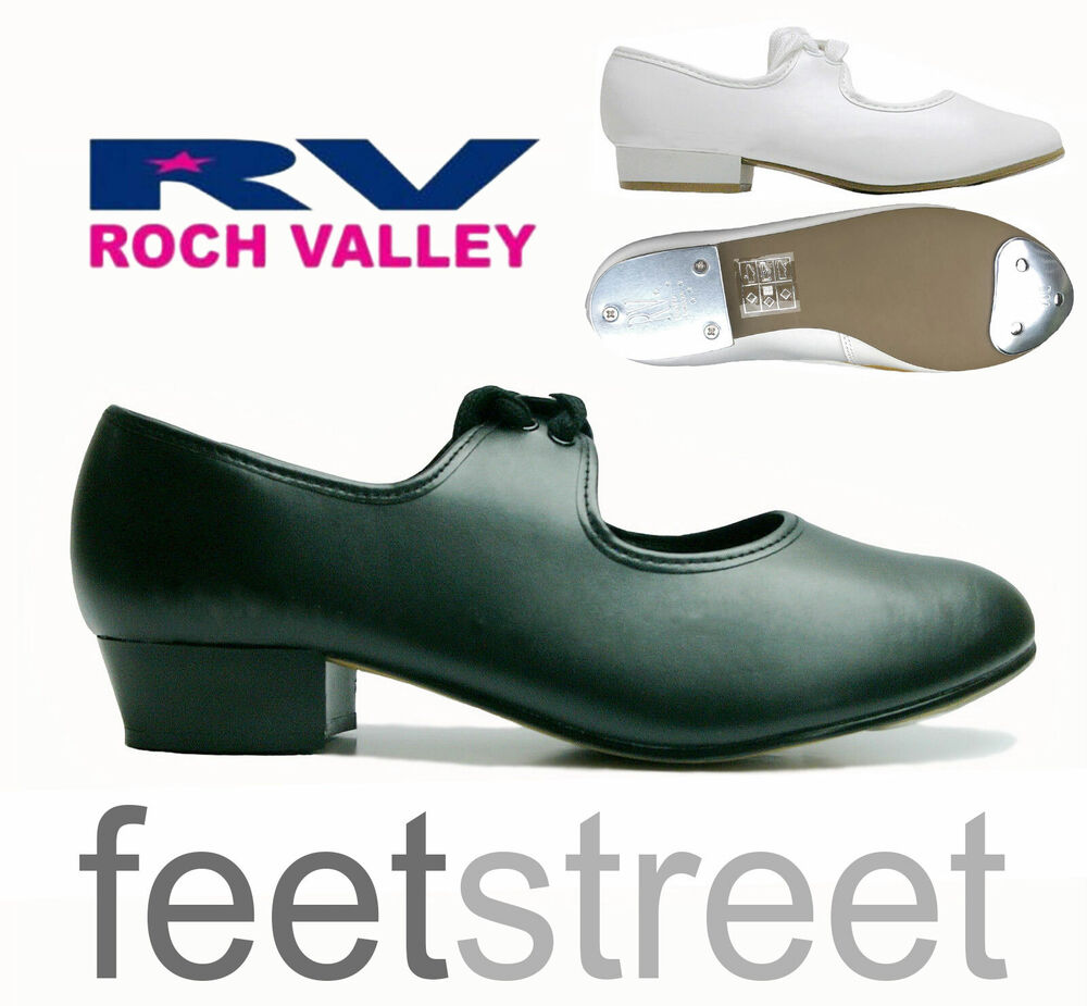 low heel black tap shoes with toe heel taps attached
