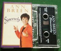 Ann Breen Sincerely inc The Moon's a Harsh Mistress + Cassette Tape - TESTED