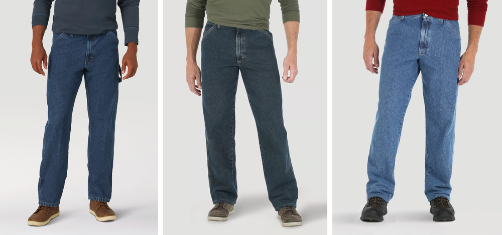 New with Tags Wrangler Carpenter Jeans Men's Sizes Three ...