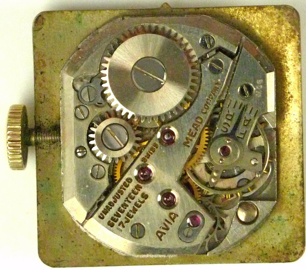 Avia Mechanical -Complete Running Movement -Sold 4 Parts ...