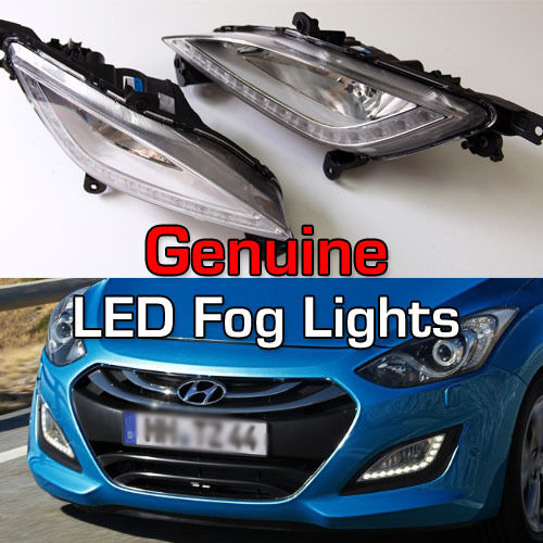 genuine fog light lamp cover 4p for hyundai 2012 2013. Black Bedroom Furniture Sets. Home Design Ideas