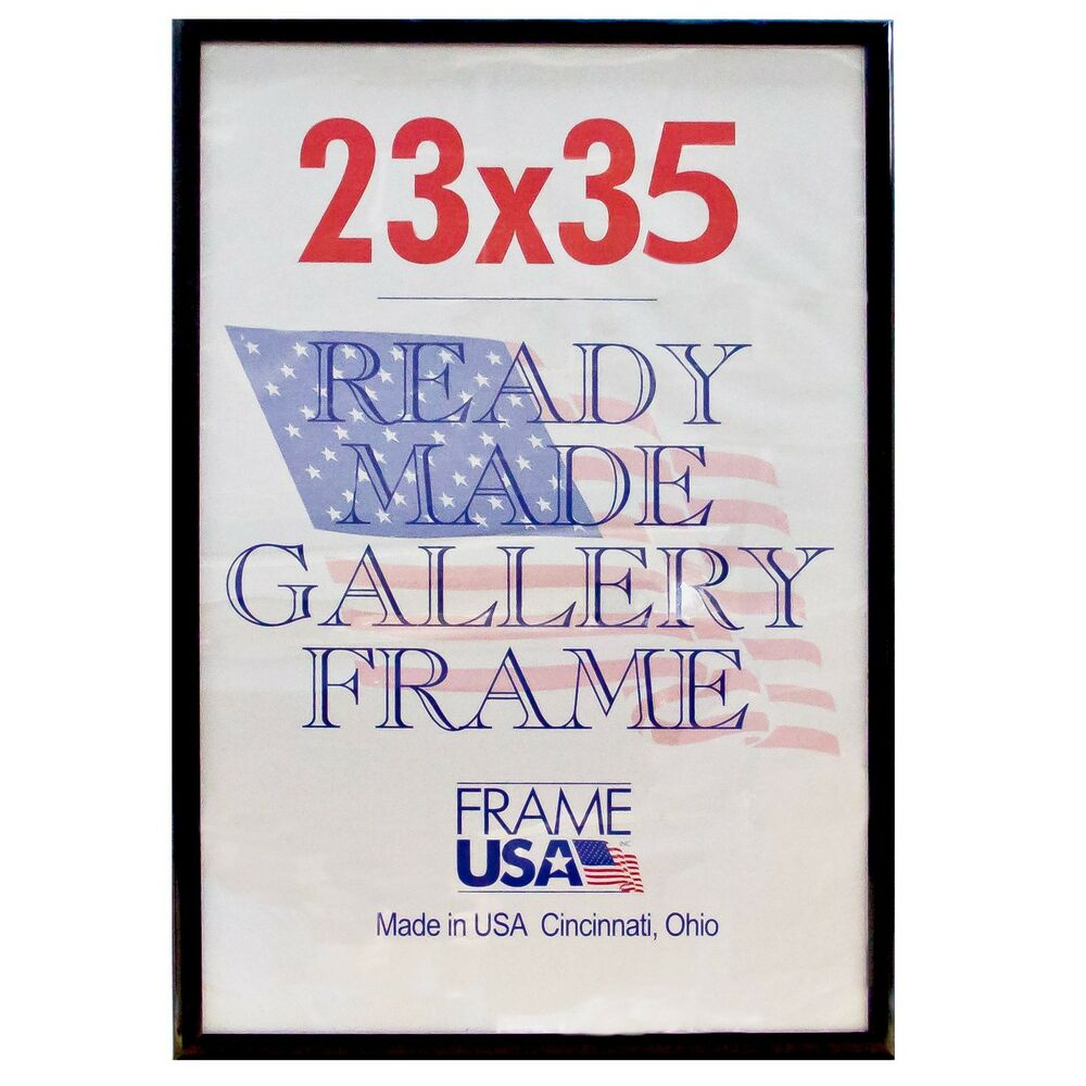 23x35 Deluxe Poster Frame Wplexi Glass 3 Colors Ebay