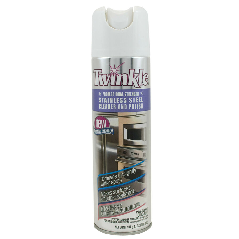 Twinkle Professional Strength Stainless Steel Cleaner