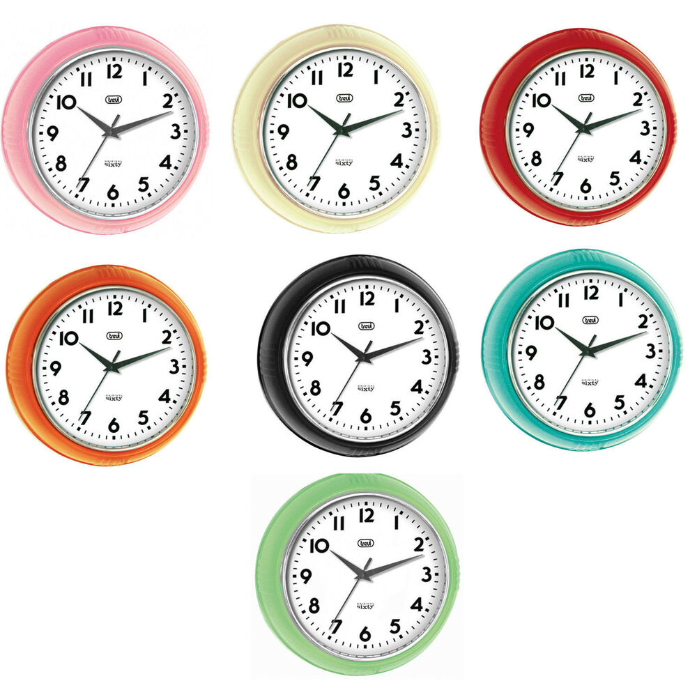 retro silent wall clock vintage home decor large ... |Silent Wall Clock
