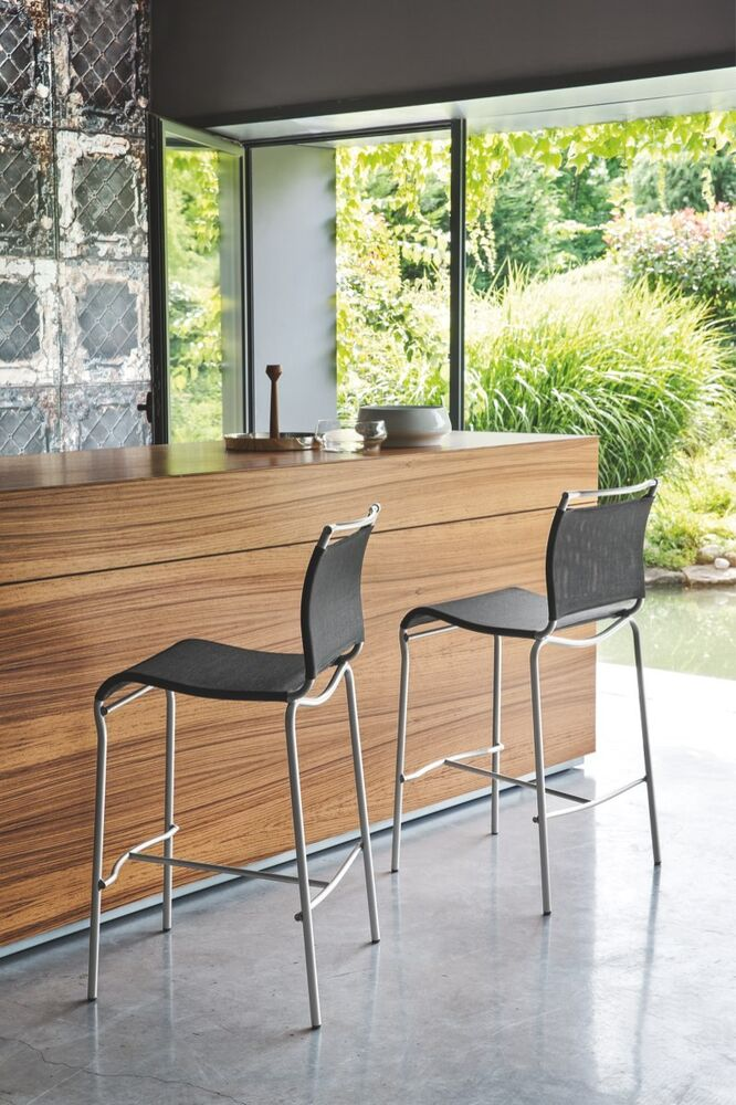 Calligaris connubia barhocker air 57 sitzh he 65 cm in for Barhocker 65