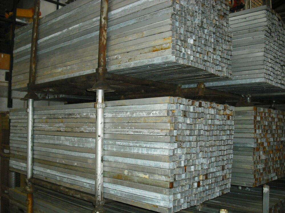 Box section steel mts shs reclaimed used mm