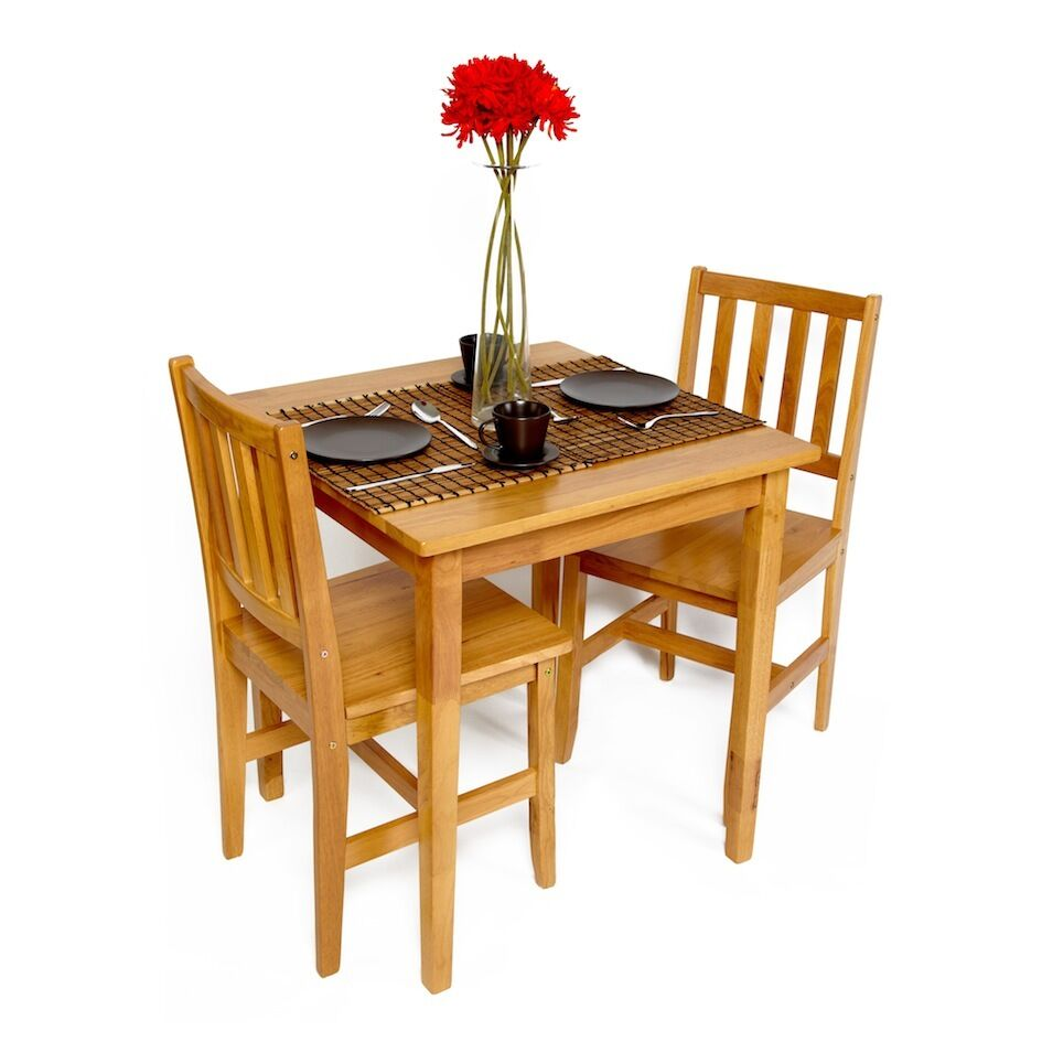 Dining Table With Two Chairs: Cafe Bistro Dining Restaurant Table And Chair Set