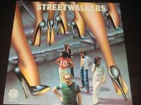 Streetwalkers rare '75 UK 1st press LP Downtown Flyers on Vertigo mint- PROG