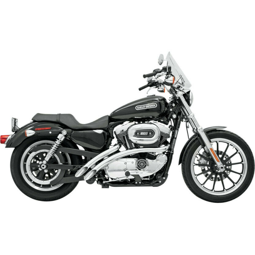 Bassani Sweepers Exhaust For Harley Davidson Xl Sportsters