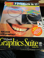 HIJAAK GRAPHICS SUITE VERSION 3.0 WITH 8 FLOPPY DISCS AND NO CD