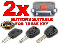 2 SWITCH BUTTON REMOTE KEY FOB PEUGEOT 106 107 206 207 306 307 406 PARTNER BOXER