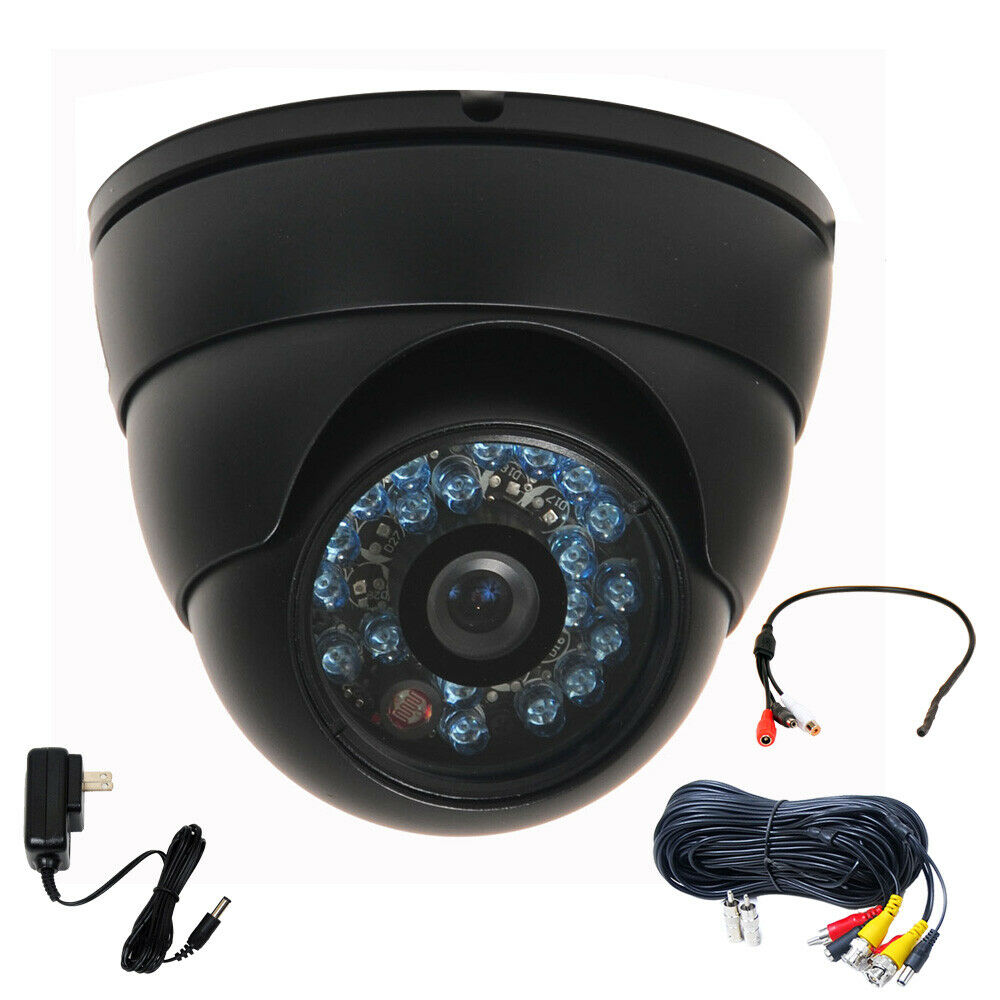 Exterior Home Security Cameras: Security Camera IR Day Night Vision Outdoor 520TVL 36 LEDs