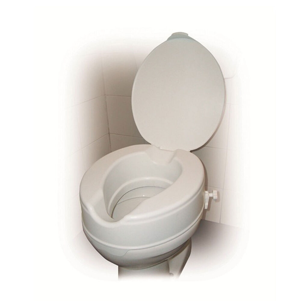 Drive Raised Toilet Seat With Or Without Lid In 2 Quot 4 Quot And