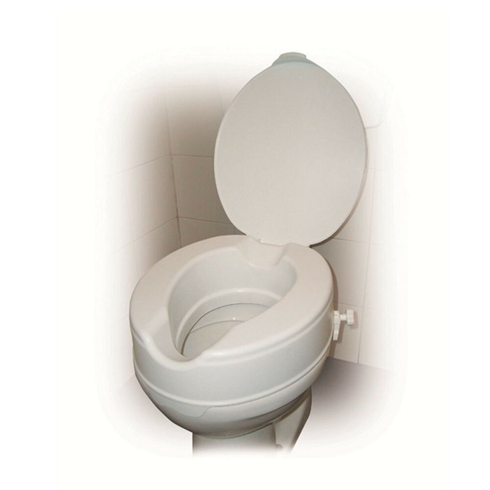 Drive Raised Toilet Seat With Or Without Lid In 2 4 And 6