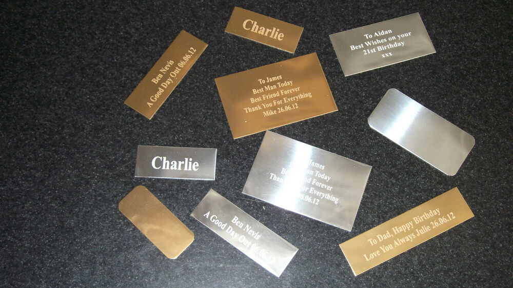 trophy engraving plates name plaques engraved free only 99p