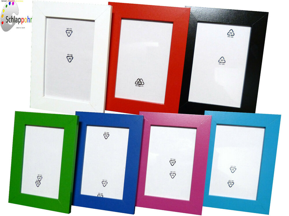 ikea nyttja picture frame photo frame 10x15 cm 13x18 cm 18x24 cm 21x30 cm din a4 ebay. Black Bedroom Furniture Sets. Home Design Ideas