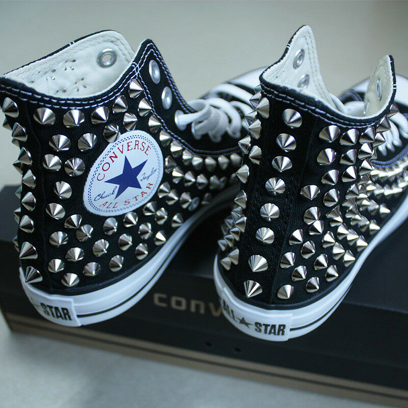 Converse Black Shoes Ebay