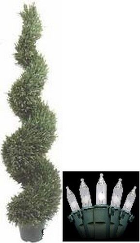5ft 4 Quot Artificial Topiary Outdoor Uv Rated Rosemary Tree