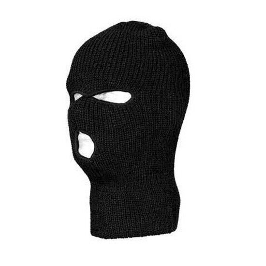 Knit Ski Mask Pattern : NEW 3 HOLE KNIT SKI MASK BEANIE WINTER SNOWBOARD HAT CAP ...