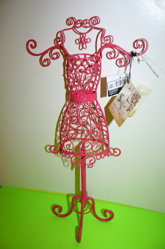 new jewelry holder mannequin pink room decor paris