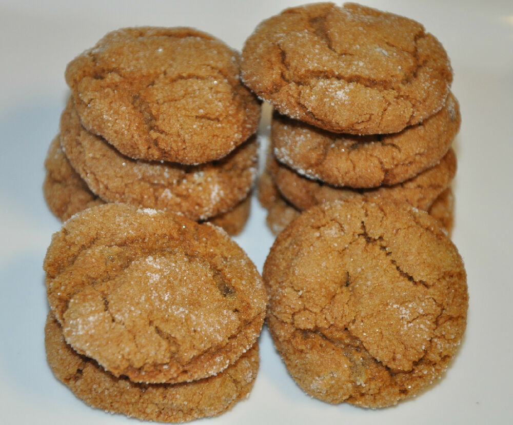 Ginger snap cookies christmas holiday fresh and yummy 12 ebay