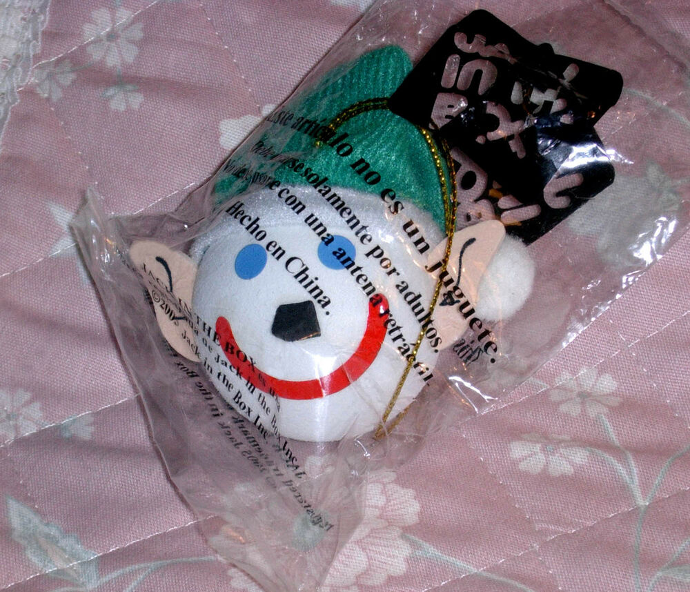 jack elf jackinthebox hanging ornament or antenna ball