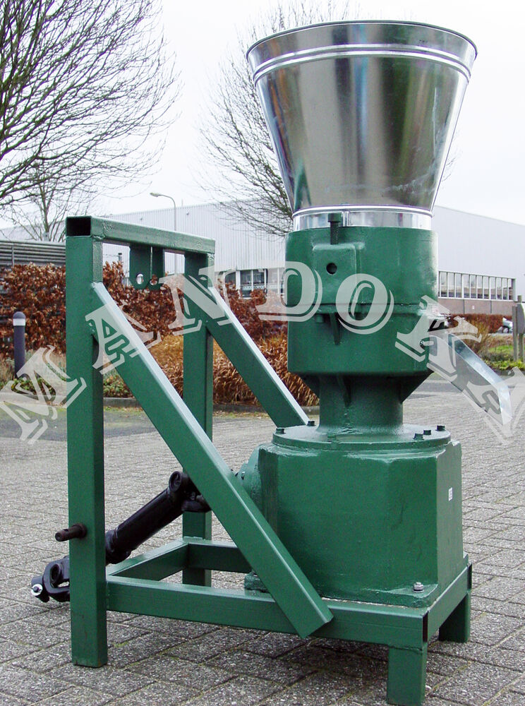 Pellet mill press pto tractor driven for fuel or