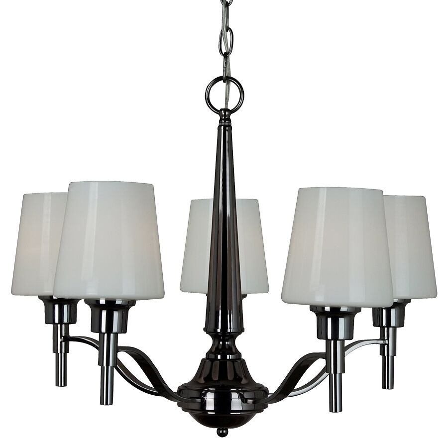 Dining Room Ceiling Light Fixtures: 5-Light Modern Ceiling Chandelier Dining Lighting Fixture