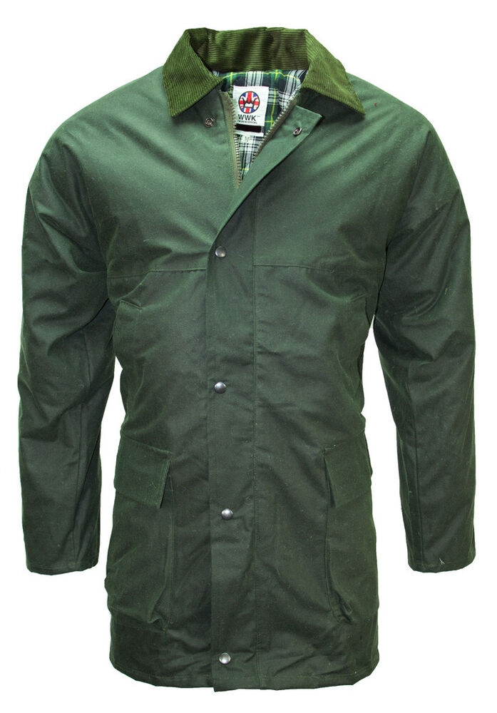 Mens Tweed Waterproof Jacket Coat