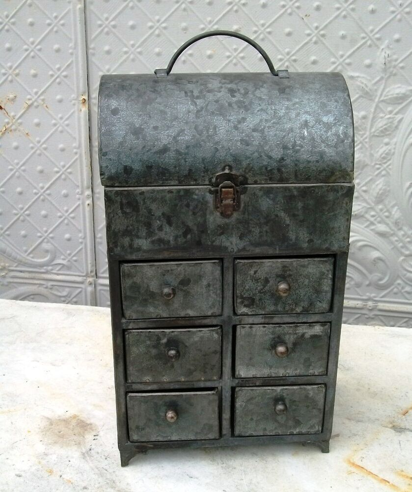 industrial metal cabinet industrial chic galvanized steel 6 drawer cabinet metal 17835