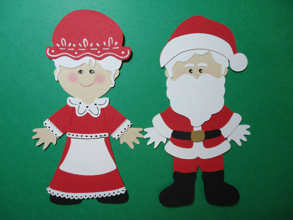 how to make santa claus out of paper