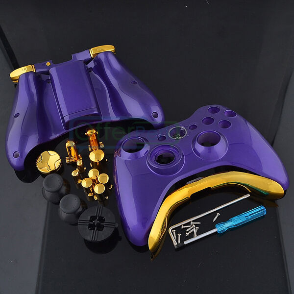 Hot Xbox 360 Wireless Controller Shell Button Glossy ...