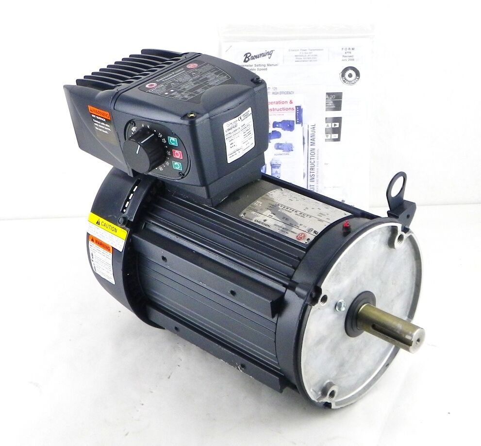 Emerson us motors u5v2bc 5 hp 230 460 v 3ph premium 5hp motor