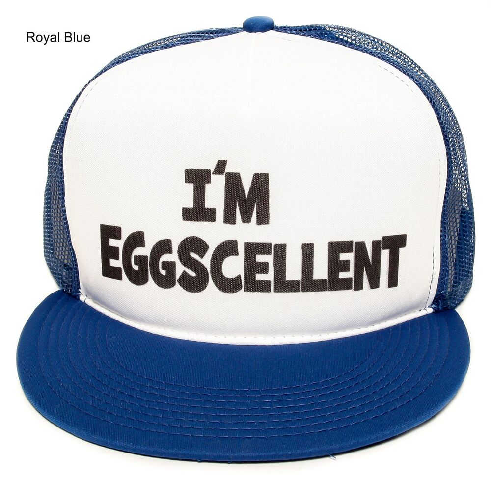 New The Regular Show I M Eggscellent Hat Cap Eggcelent