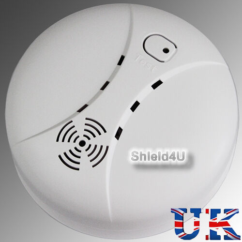new wireless photoelectric smoke detector alarm ebay. Black Bedroom Furniture Sets. Home Design Ideas