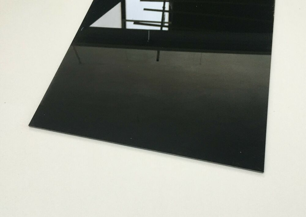 plexiglas acrylglas schwarz blickdicht 3mm platte zus gen kostenlos ebay. Black Bedroom Furniture Sets. Home Design Ideas