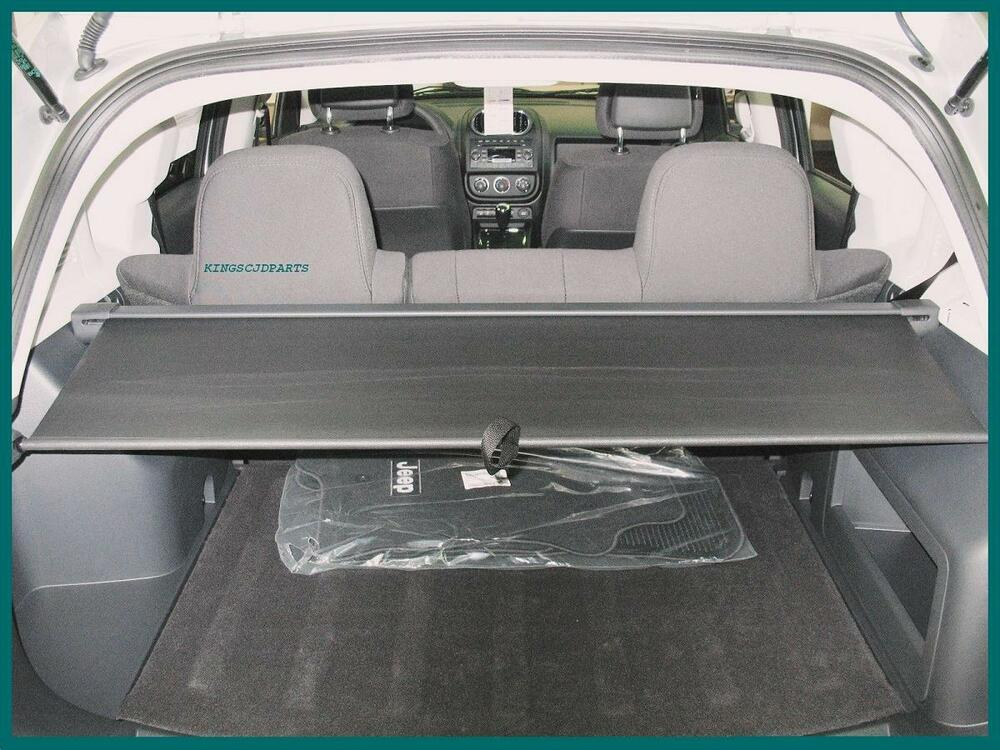new cargo security cover slate gray jeep compass patriot. Black Bedroom Furniture Sets. Home Design Ideas